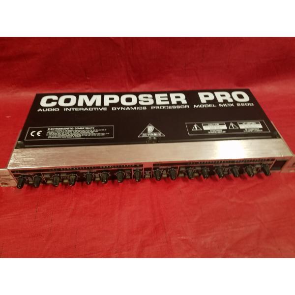 Behringer Composer Pro MDX2200 + Behringer Composer Pro MDX2200